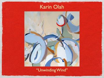 local Charleston Sc artist Karin Olah
