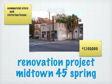45 Spring St Renovation/development project