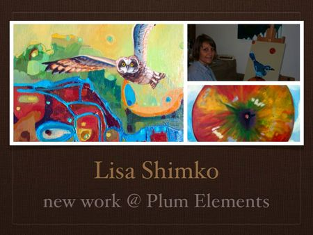 Charleston Artist Lisa Shimko opens a new show @ Plum Elements