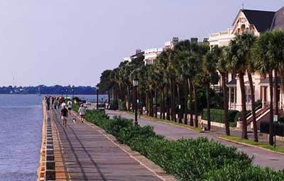 White Point Gardens Charleston Sc