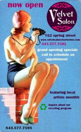 Velvet Salon opens at 162-C Spring St