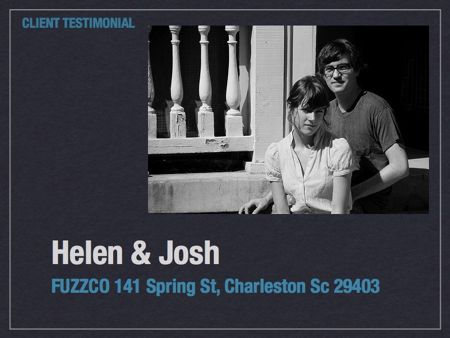 Helen and Josh chose Currie to help them with the purchase of 141 Spring St.