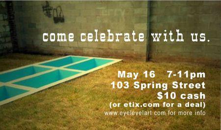 kick off party May 16th 7-11