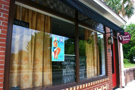 Lovely renovation from Barber Shop to Salon & Color Studio