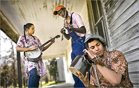 Carolina Chocolate Drops perform Spoleto USA Charleston Sc