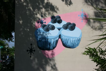 Sugar's new mural by Redux artist in residence Corey Offenheimer