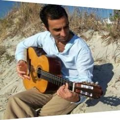 Flamenco guitar tonight at Eye Level Art 103 Spring St downtown