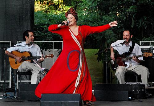Fabiana Cozza debuts Afro-Brazilian singer Spoleto USA