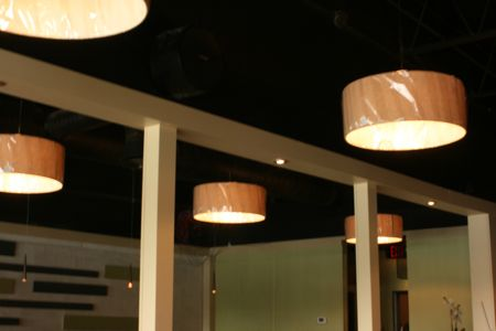 Cool and Modern Textures and colors of the new mt pleasant restaurant Graze