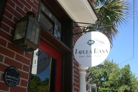 Tabula Rasa Salon on Spring St downtown Charleston Sc