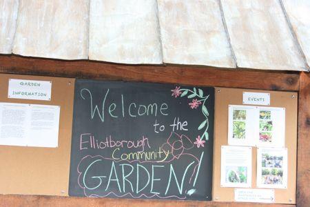 Elliotborough Park community garden