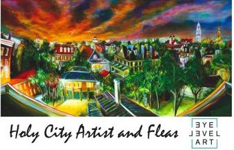 Holy City Artist and Fleas craft fair opens tomorrow in Downtown Charleston Sc Sept 11, 2010