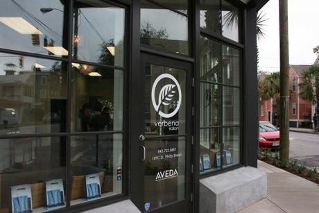 Verbena Salon Elliotborough Downtown Charleston Sc