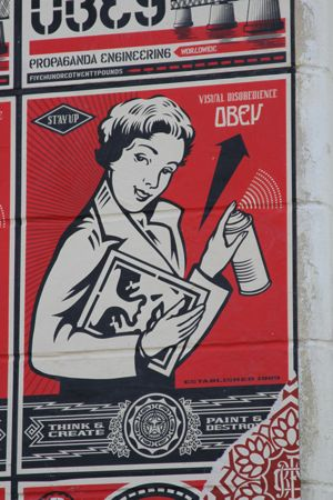 I like the retro girl shown here, reminds me of my real estate signs