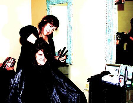 Kelli Hoff stylist Tabula Rasa Salon 125 Cannon St, downtown Charleston Sc