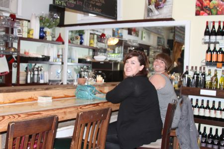 Happy Patrons at the Remedy Cafe Cannonborough Downtown Charleston Sc