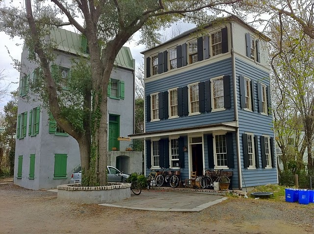 Cannonborough Elliotborough infill development in downtown Charleston Sc